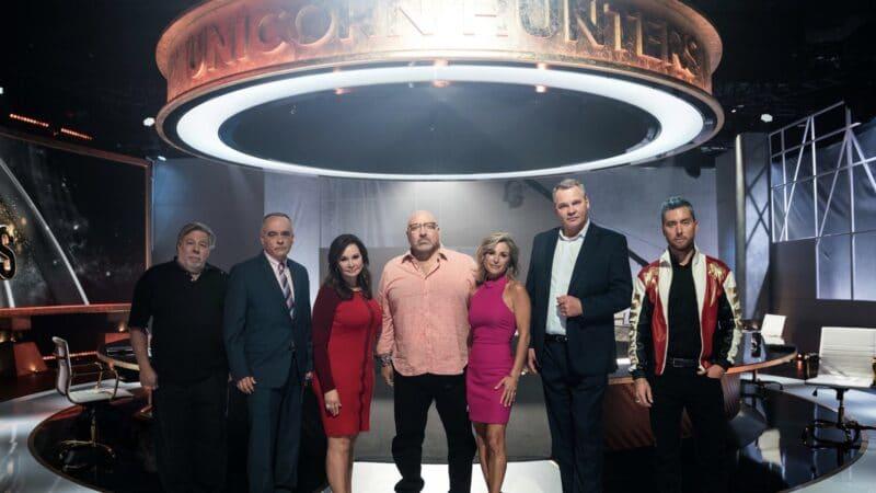 """Steve Wozniak como jurado do reality show """"Unicorn Hunters"""""""