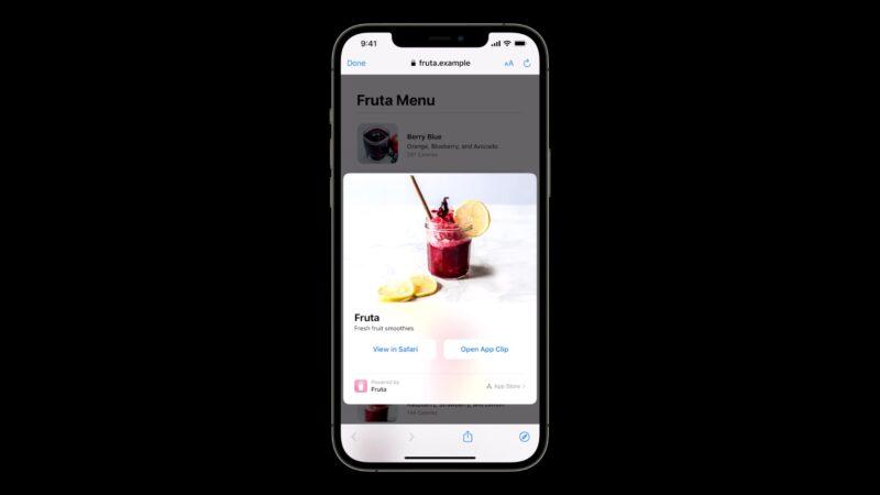 Clipes de Apps no iOS 15