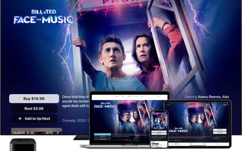 Alugar ou comprar um filme pela Apple TV