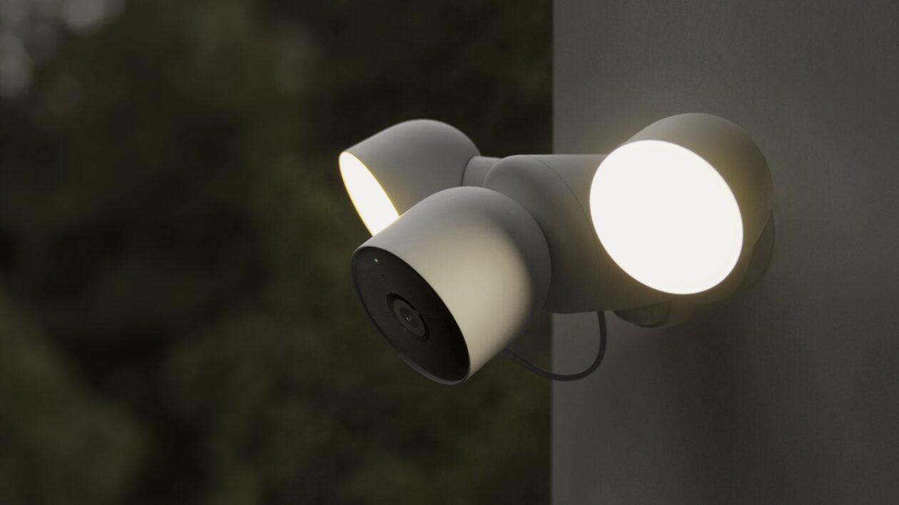 Google Nest Camera with Floodlight