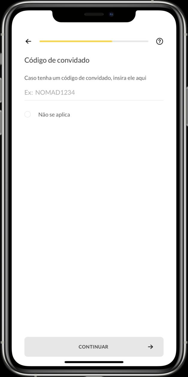 Conta digital americana da Nomad