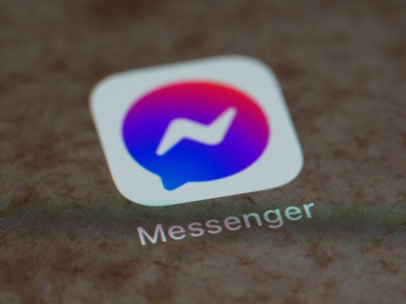 Ícone do Facebook Messenger
