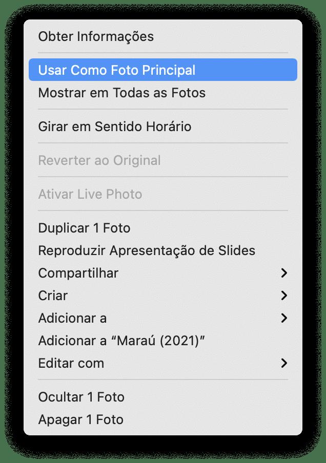 Usar imagem como capa de álbum