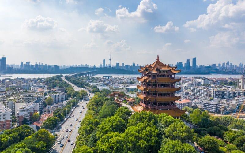 Cidade de Wuhan, na China