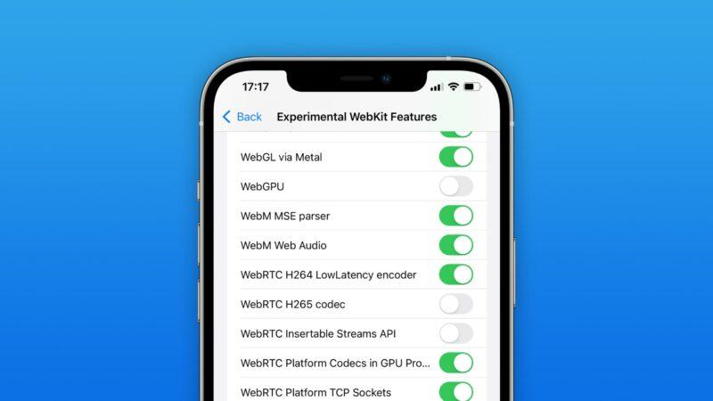 Safari iOS 15 WebM