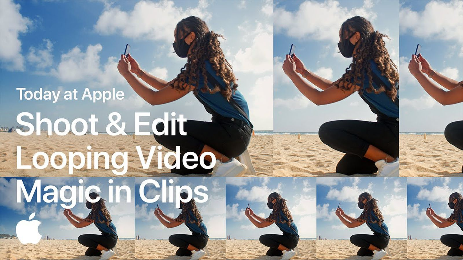 """Terceira sessão do """"Today at Apple"""" no YouTube: Shoot & Edit Looping Video Magic in Clips"""