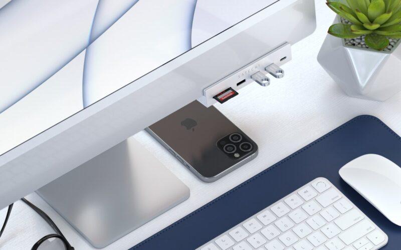 """Novo hub dedicado para os iMacs de 24"""" da Satechi"""