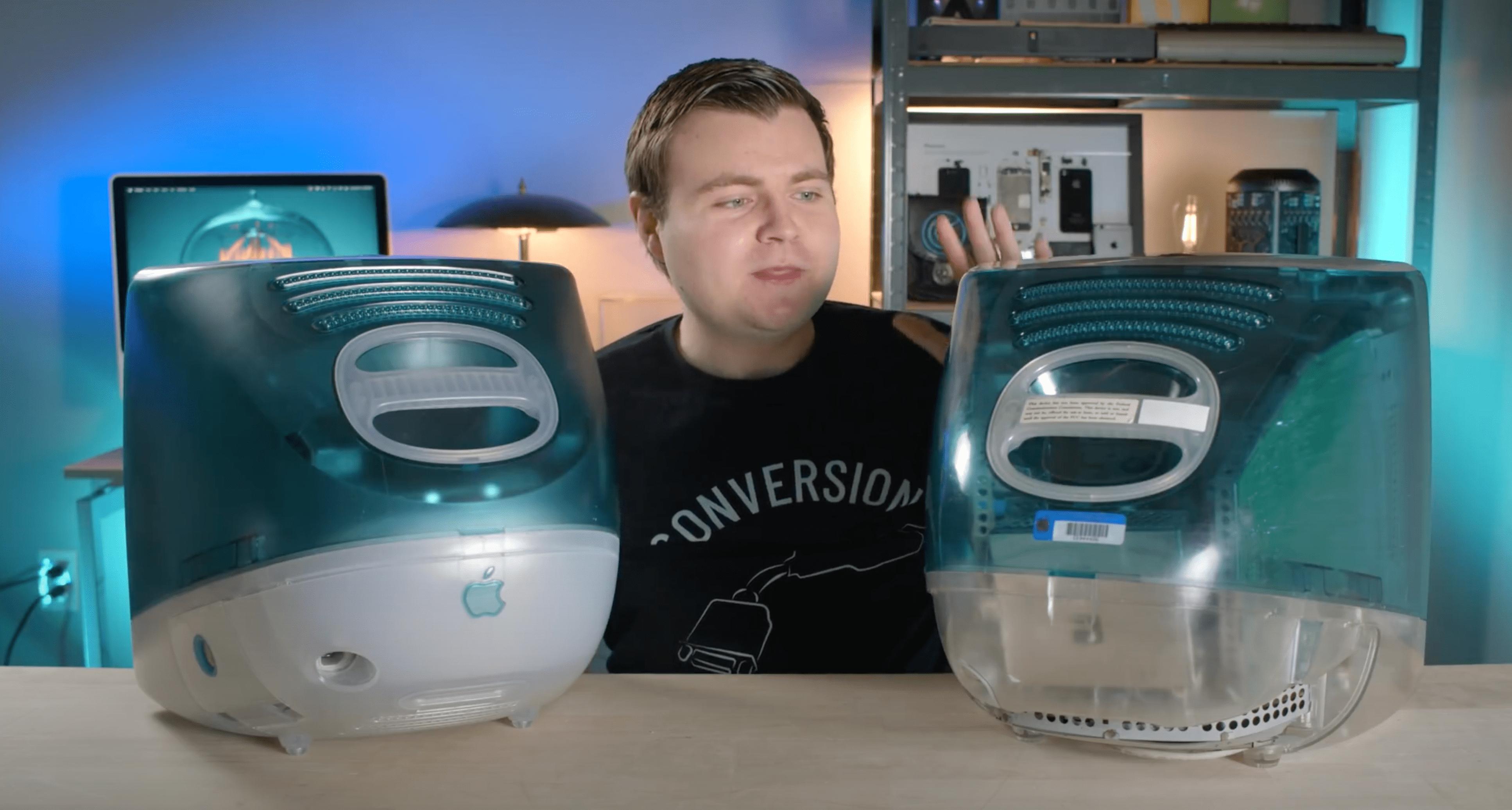 YouTuber põe as mãos em protótipo raríssimo do iMac G3 original