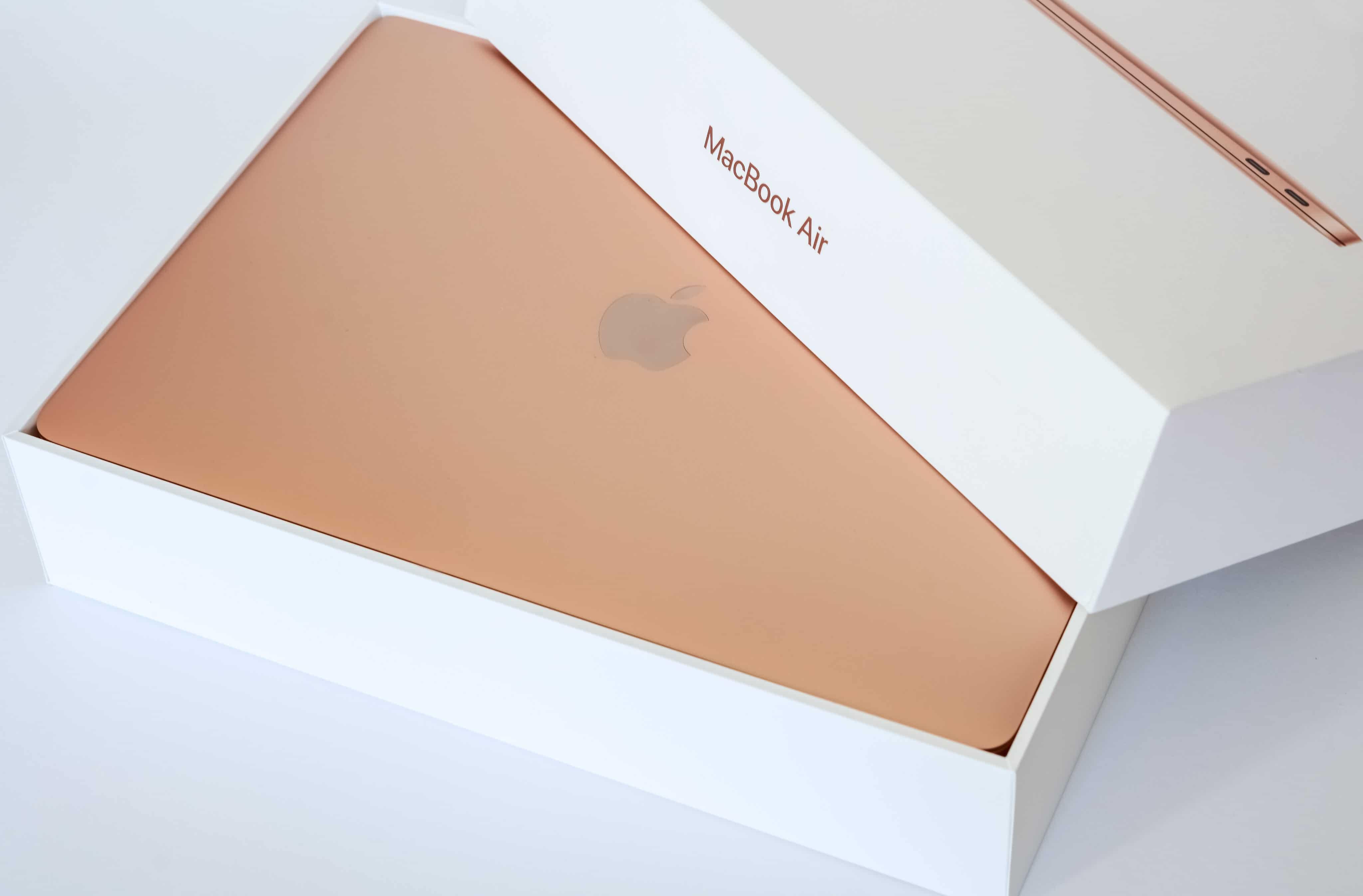 Caixa do MacBook Air