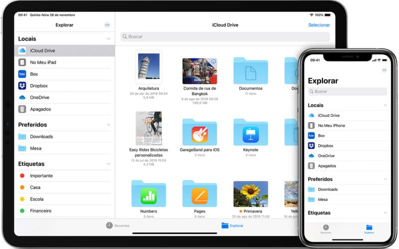 App Arquivos
