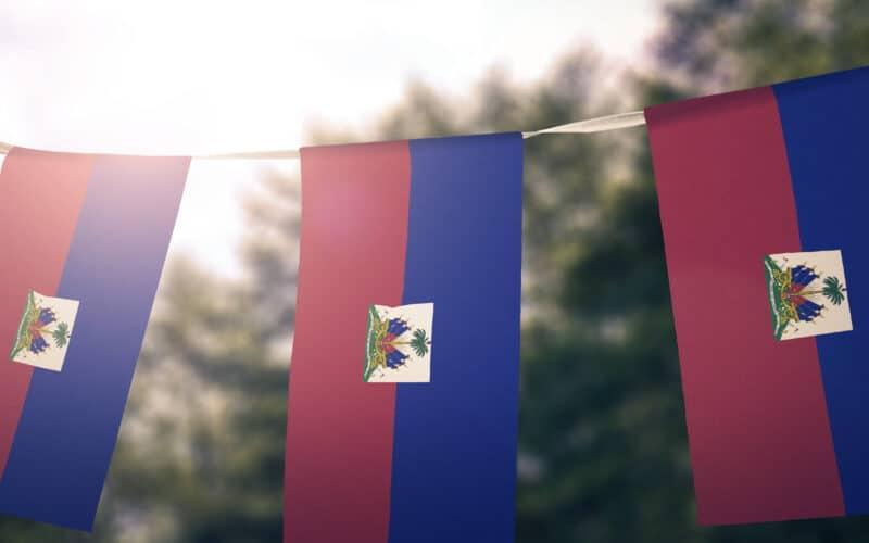 Bandeirinhas do Haiti