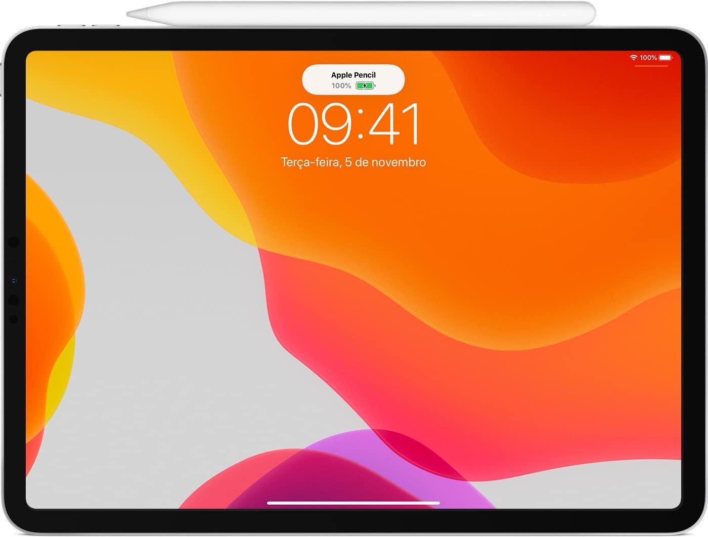 Visualizando a bateria do Apple Pencil no iPad