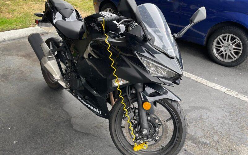 AirTag em moto roubada
