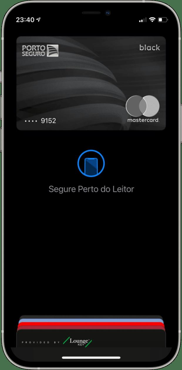 Cartão Porto Seguro Mastercard no Apple Pay