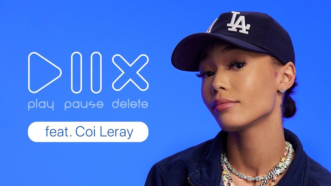 """Play, Pause, Delete"", mini game show da Apple estreia com a rapper Coi Leray"