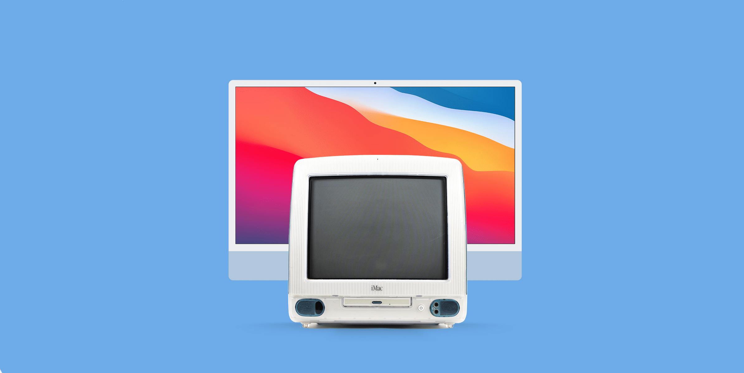 Design: iMac G3 e novo iMac