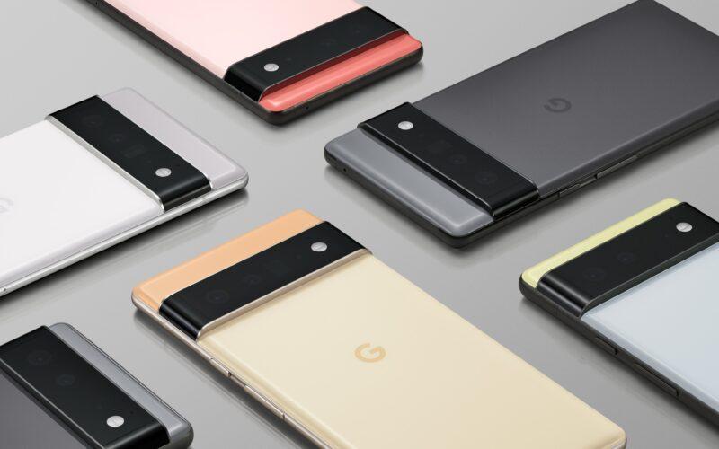 Google Pixel 6 e Pixel 6 Pro