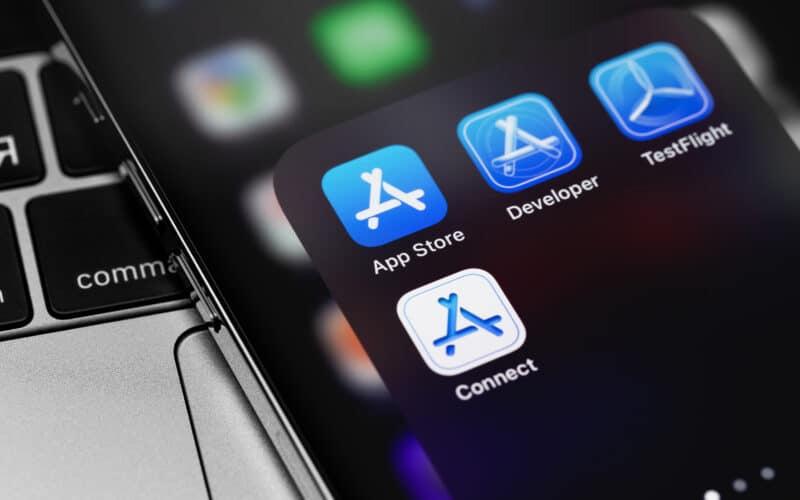 App Store, Developer, TestFlight e Connect
