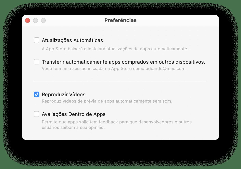 Avaliações de apps - Mac App Store