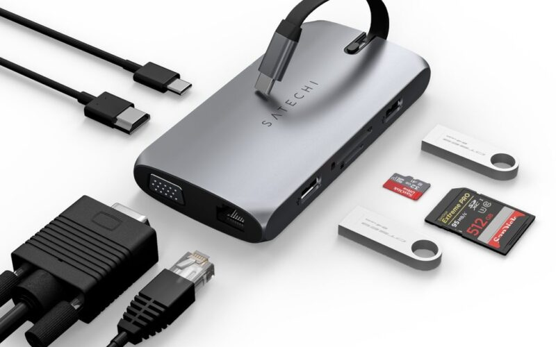 USB-C On-the-Go Multiport Adapter