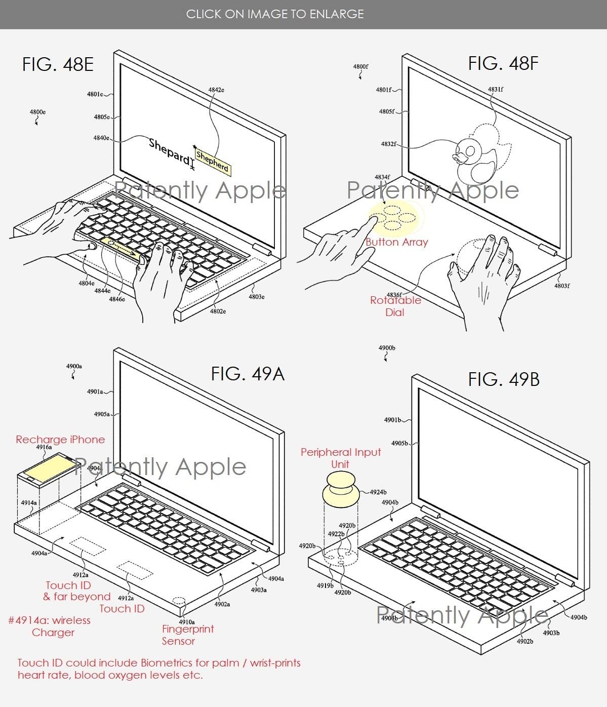 Patente da Apple para MacBook com segunda tela
