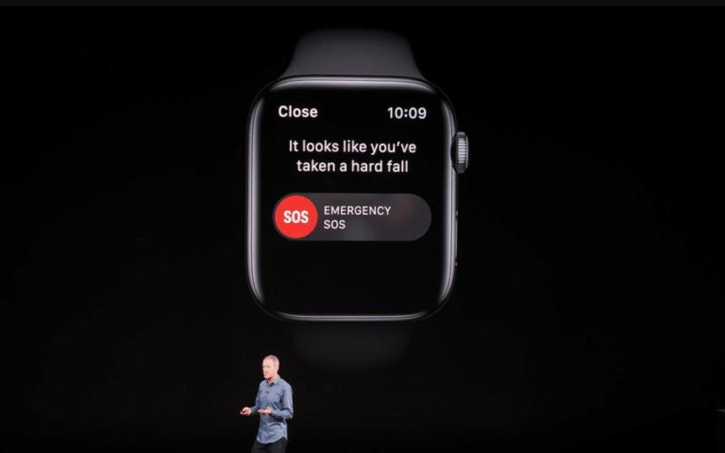 Detecção de Queda do Apple Watch