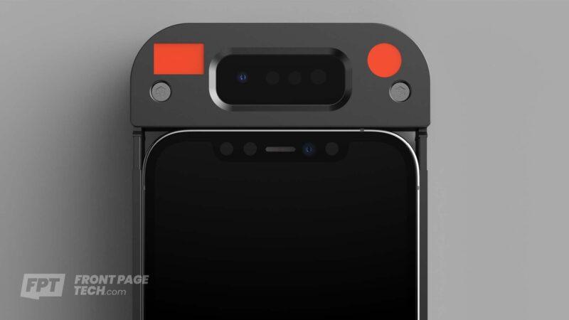 Render: protótipo de case com Face ID que funciona com máscaras