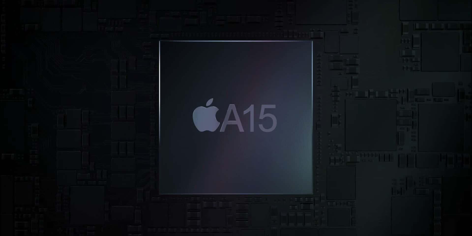 Ilustração de chip A15