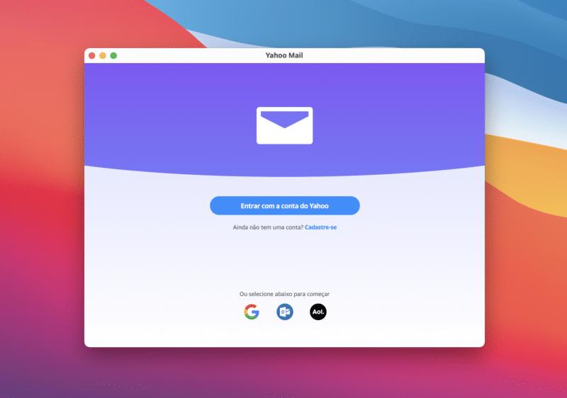 Yahoo Mail para Apple Silicon