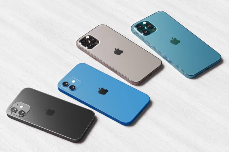 iPhones 12 mini, 12, 12 Pro e 12 Pro Max