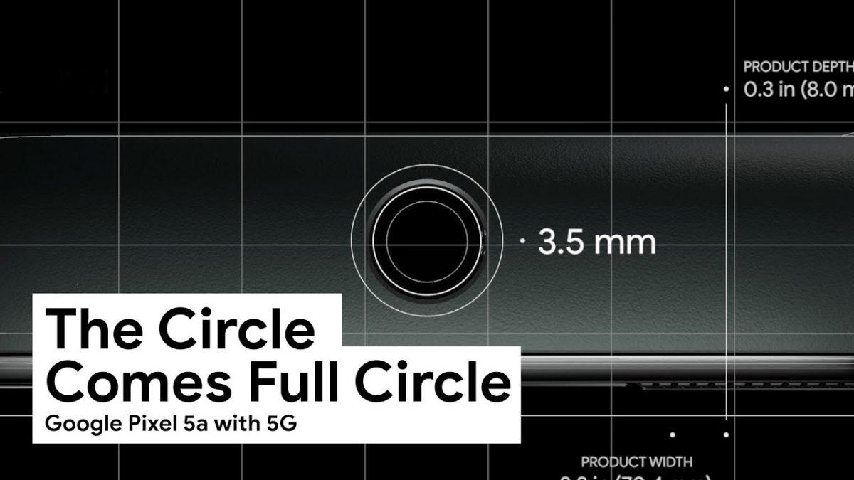 Vídeo do Google Pixel 5a parodiando Jony Ive