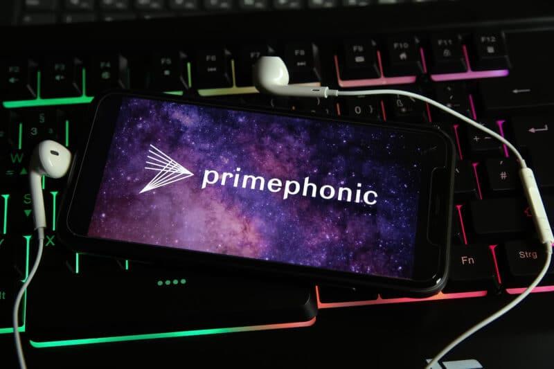 Logo da Primephonic