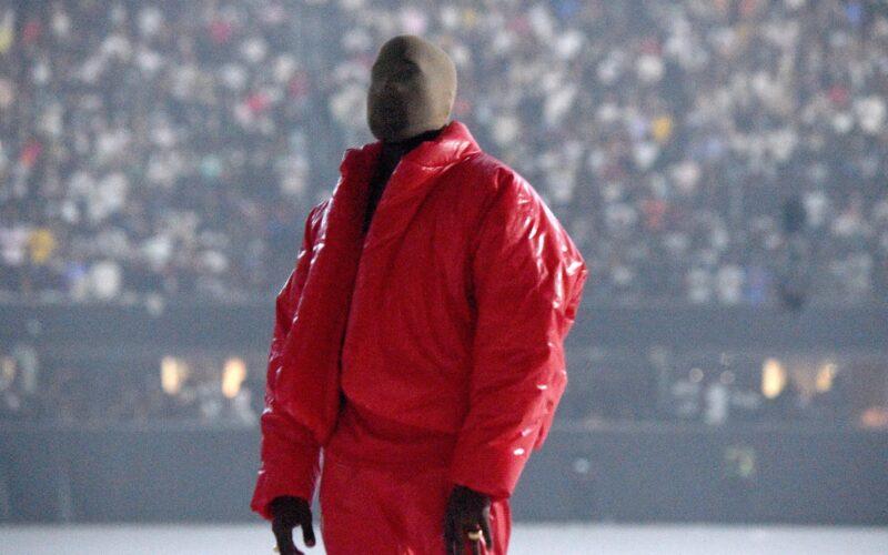 """Kanye West no lançamento de """"Donda"""""""