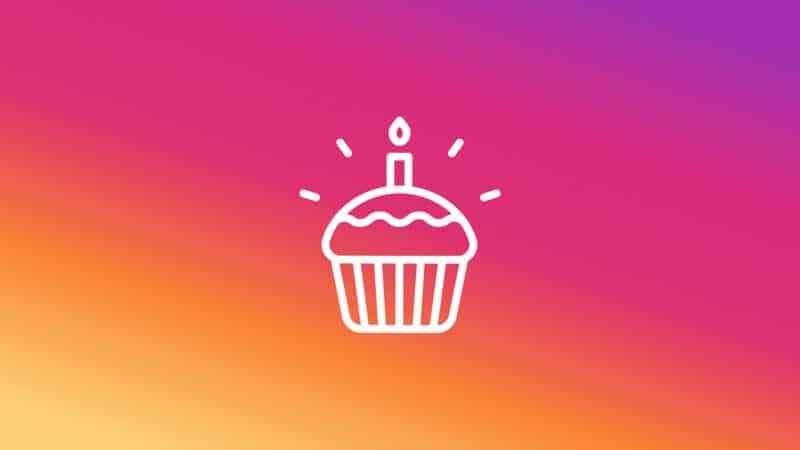 Instagram exigindo data de aniversário como medida de segurança
