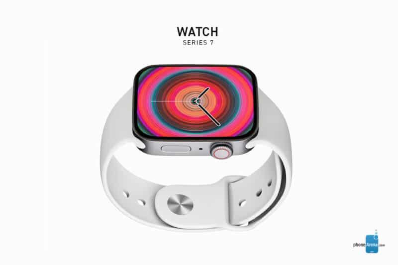 "Render do ""Apple Watch Series 7"""