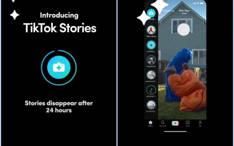 Stories do TikTok