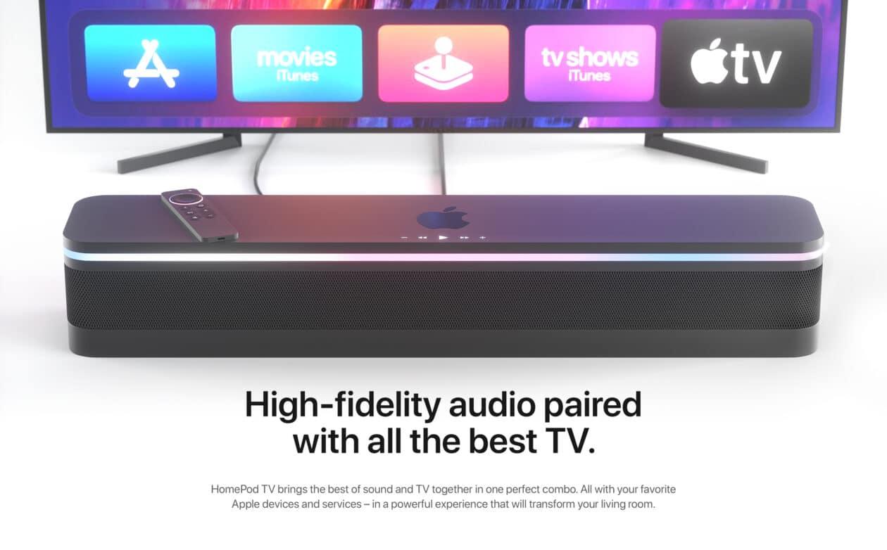 Conceito HomePod TV
