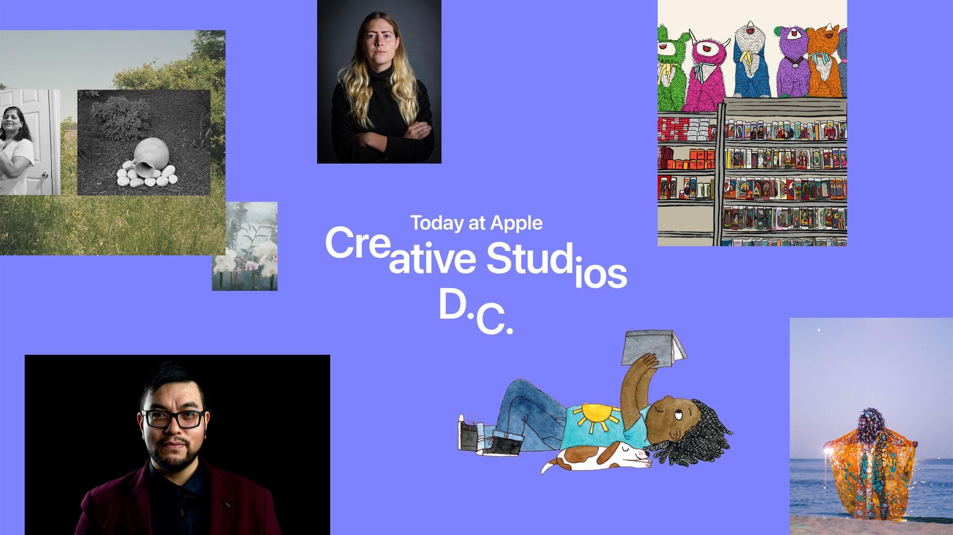 Today at Apple Creative Studios: Washington