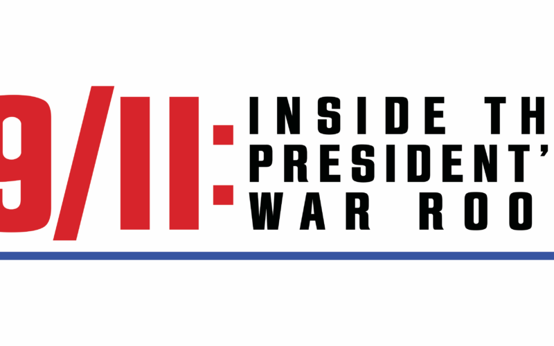 """Banner de """"11 de Setembro: No Gabinete de Crise do Presidente"""""""