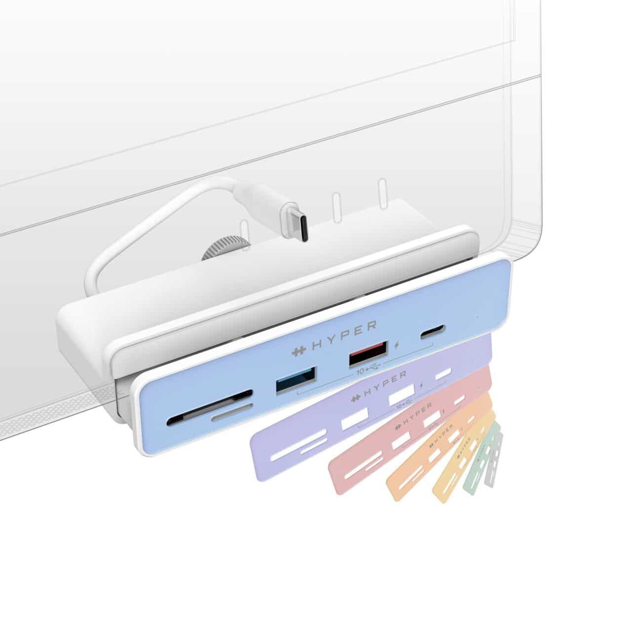 6-in-1 USB-C Hub for iMac 24″