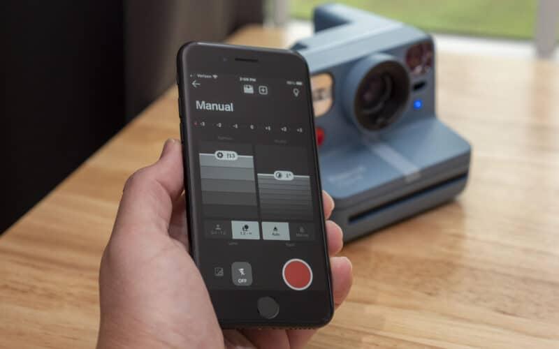 Polaroid Now+ e app para iPhone