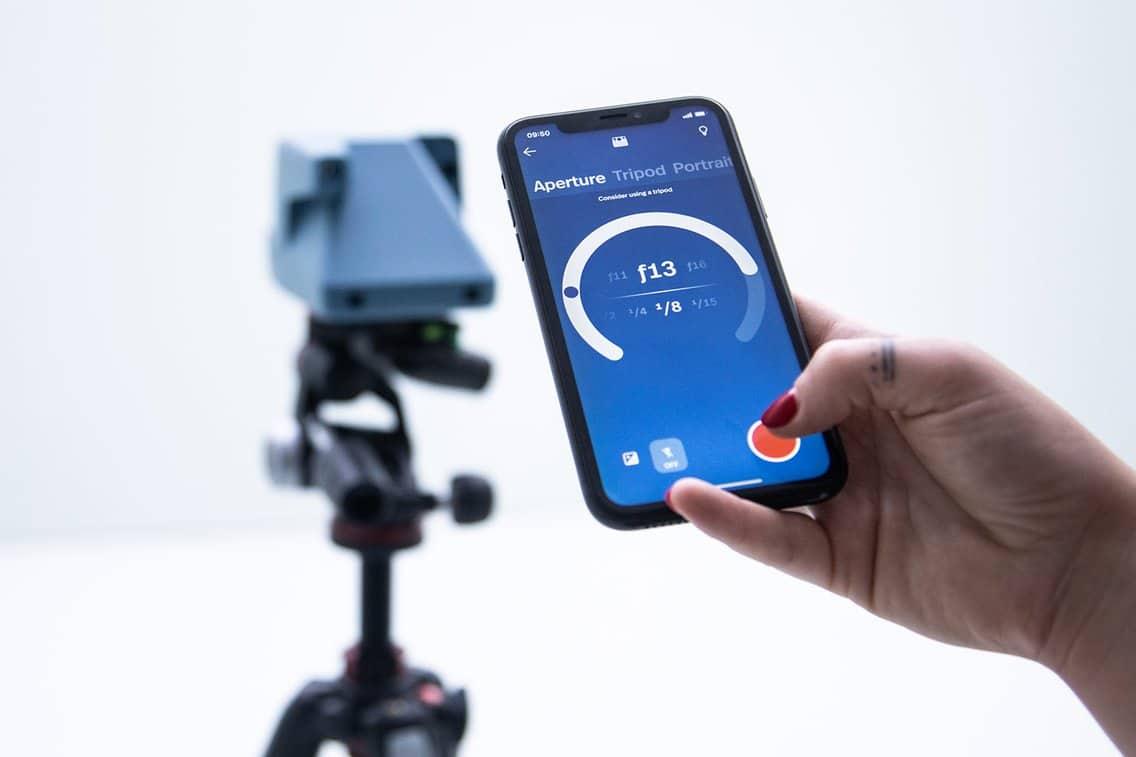 Aplicativo da Polaroid para iPhone
