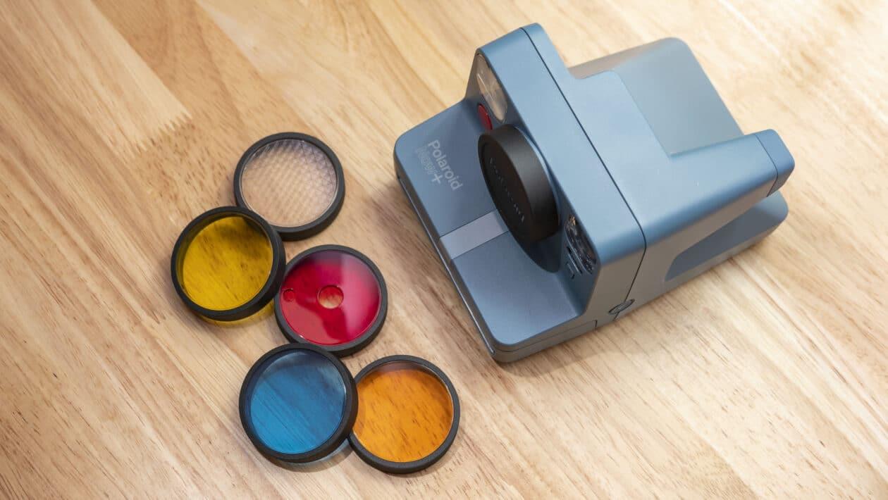 Lentes da Polaroid Now+