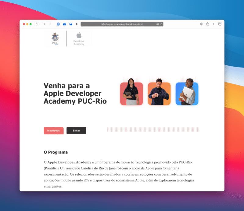 Apple Developer Academi PUC-Rio