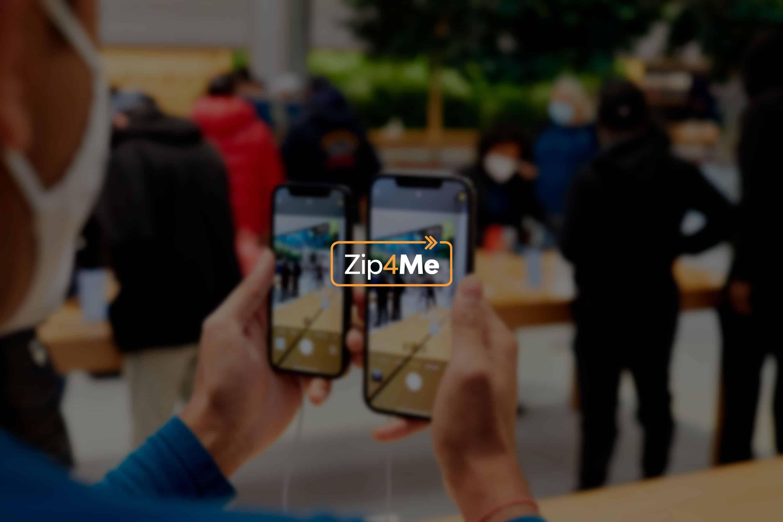 Header da Zip4Me