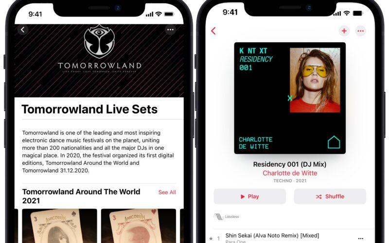 Artistas e DJs no Apple Music