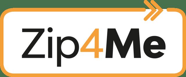 Logo da Zip4Me com fundo branco
