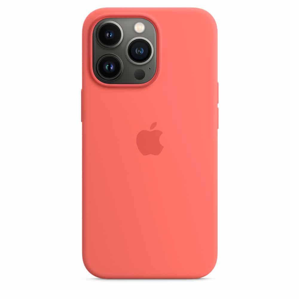 Case de silicone para iPhones
