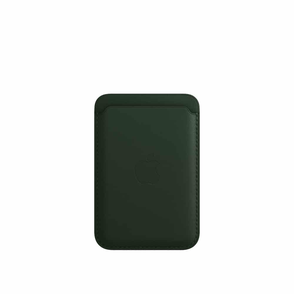 Carteira de couro para iPhone