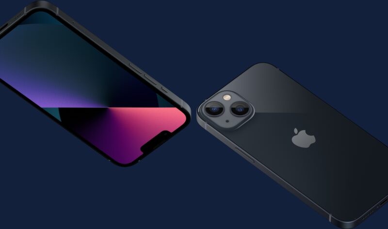 iPhone 13 meia-noite